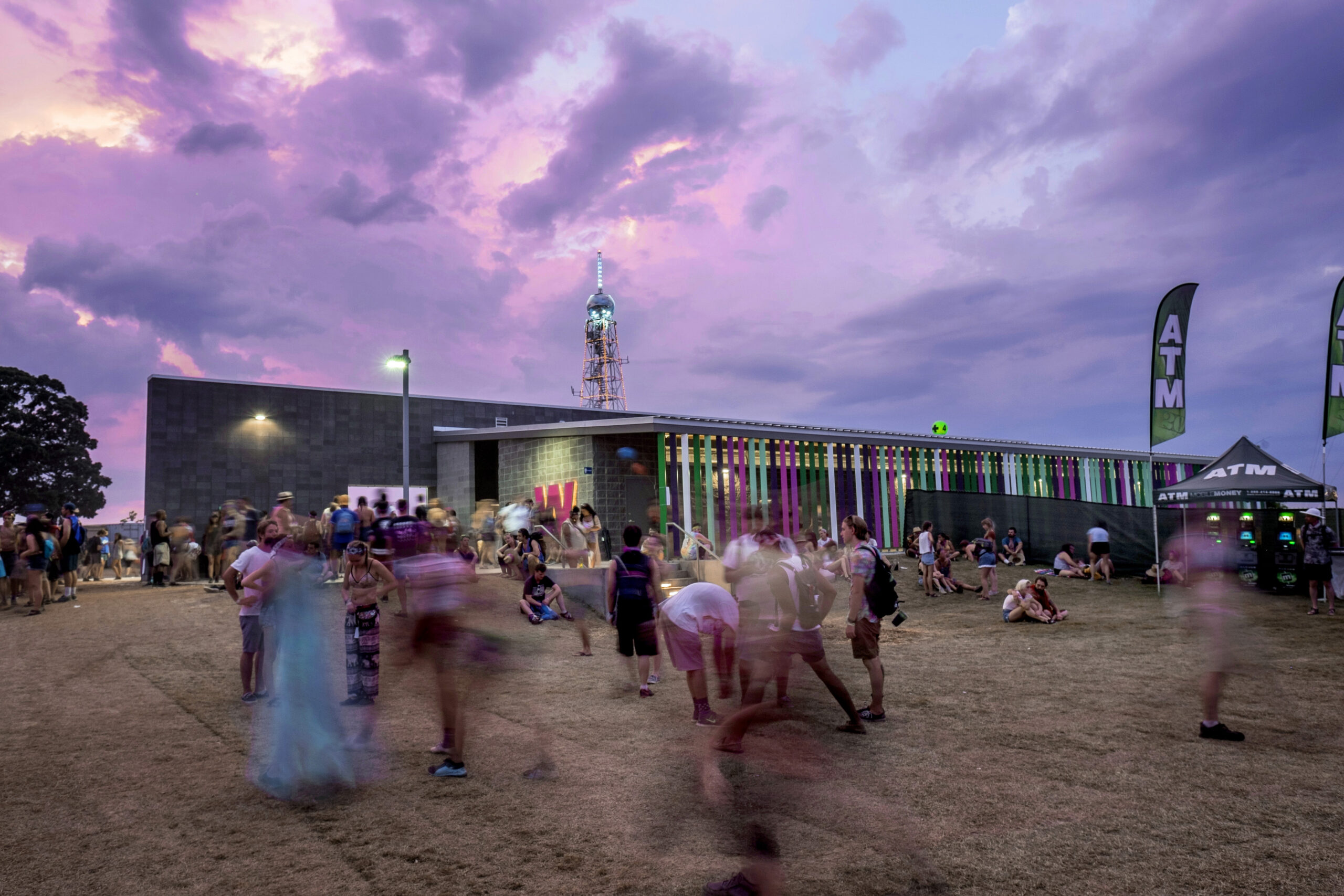 Bonnaroo Toilets and Showers